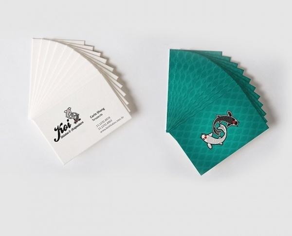 Mamelucos - Estúdio Multidisciplinar de Design #card #design #graphic #koi #brazil #shiatsu #visit