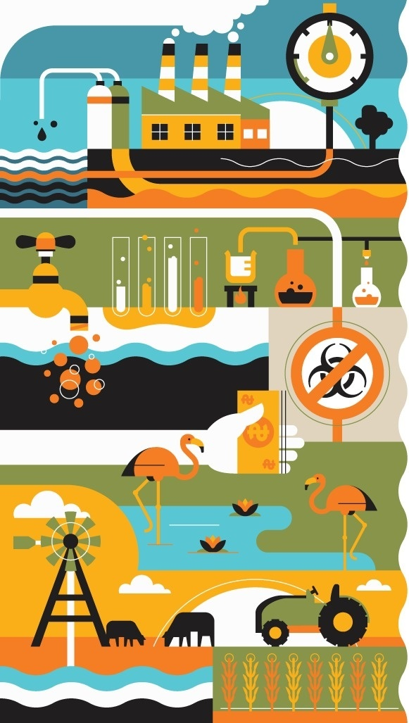 Wired-Environment #illustration #design #graphic