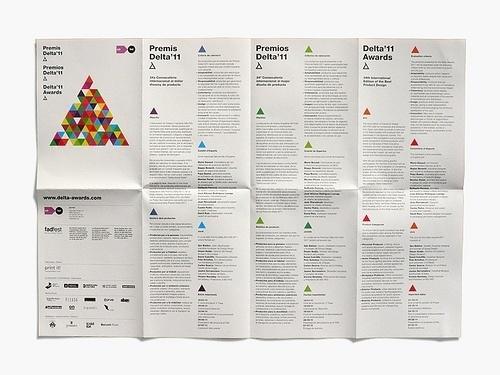 » Delta Awards 2011 Flickrgraphics #layout #design #graphic