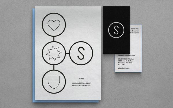 POINTBARRE papier – écran #stand #branding #montreal #design #pointbarre #logo
