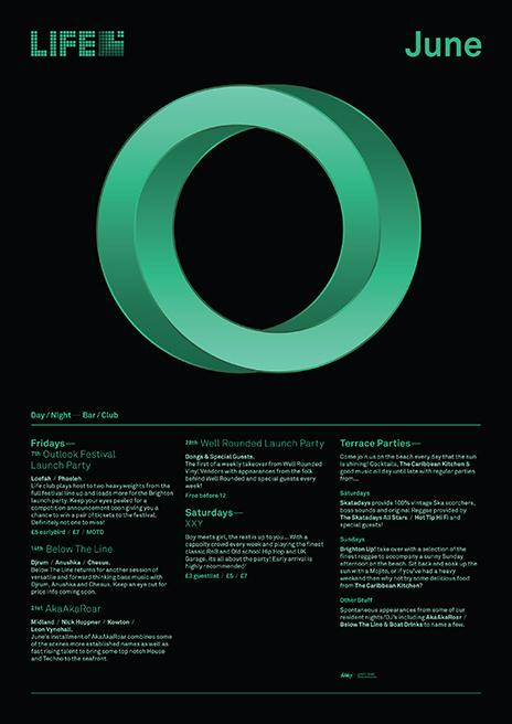 Life 2013 - promotion nightclub - Filthymedia #life #bar #poster #nightclub