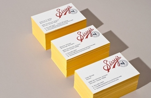 Sissy's Southern Kitchen - Tractorbeam® | Strategy | Design | Advertising | Marketing | Not About Tractors #yellow #cards #business #restaurant