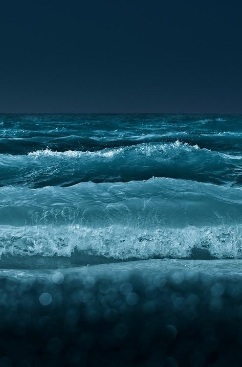 Pinned by #bokeh #freedom #photography #sea #storm #blue #splash #beauty