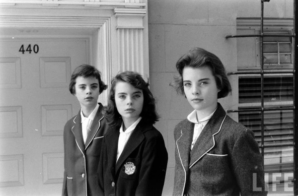 Photography by Nina Leen #inspiration #white #black #photography #and