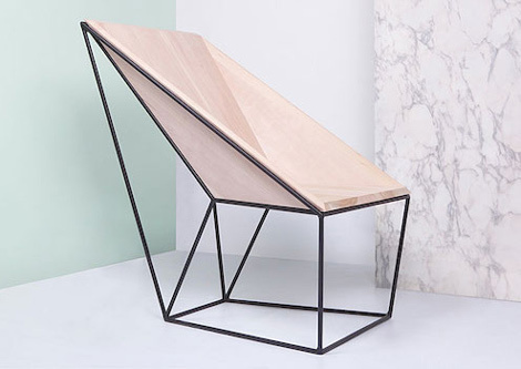 Varia — Design & photography related inspiration #interior #polygon #geometry #chair #furniture
