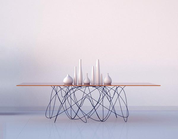 Quantum Table #interior #creative #inspiration #amazing #modern #design #ideas #furniture #architecture #art #decoration #cool