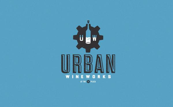 Urban Wineworks logo design #logo #design