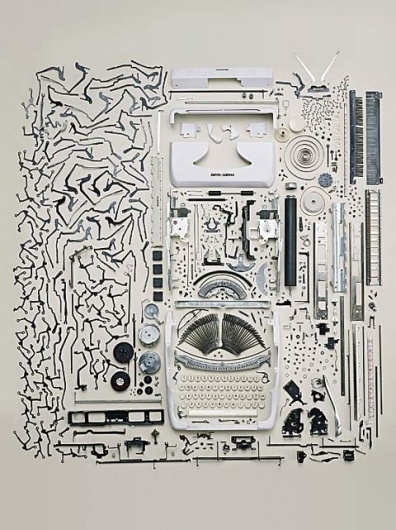 Art & Photography: Todd McLellan | Feature Shoot #mclellan #typewriter #todd