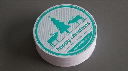 Hatched   Christmas Card 2011 #beer #beermat #card #design #christmas #illustration #graphics #hatched