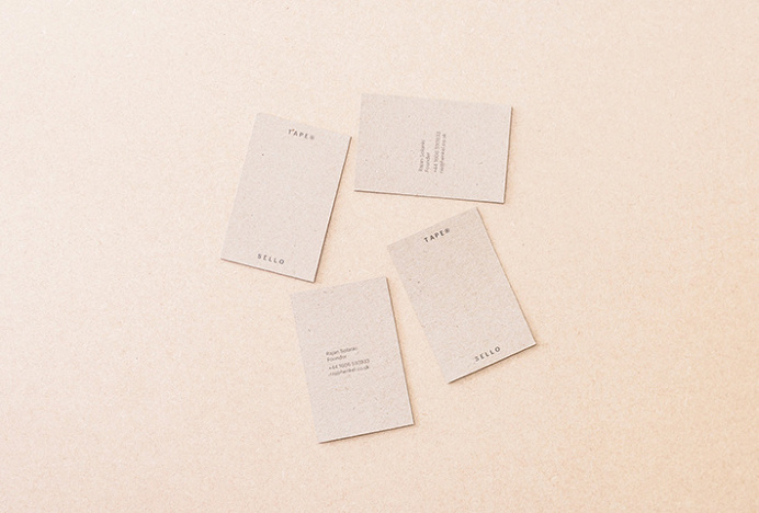 Sellotape by Rajan Solanki #graphic #design #business #card