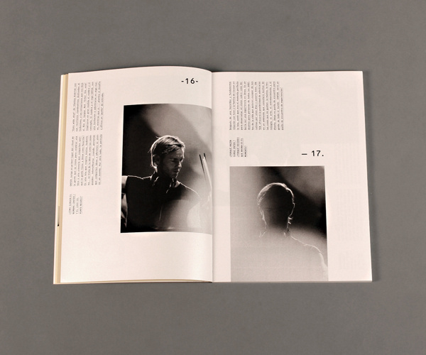 Beethoven Magazine on Behance #print #art #typeface #poster #layout #book #publication #minimalism #music #vector #graphic #cover