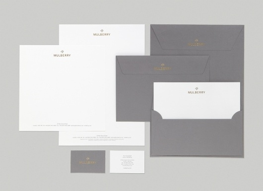 Construct — Recent Projects Special | September Industry #gold #stationery #stamping #foil #grey