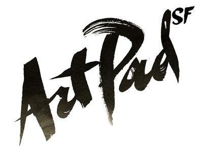 Dribbble - ArtPad SF by Michael Jeter #lettering #identity #art #brush