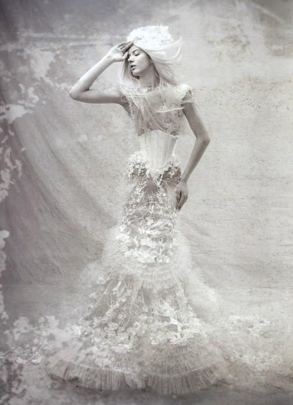 The Dress as art – Tex Saverio #artistic #dresses #tex #saverio #art #fashion #dress #wedding