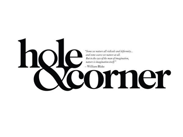 Hole & Corner Andreas Neophytou #logo