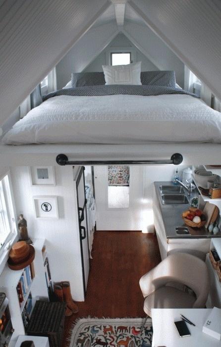 14.gif 446×700 pixels #interior #loft #design #bed #deco #decoration