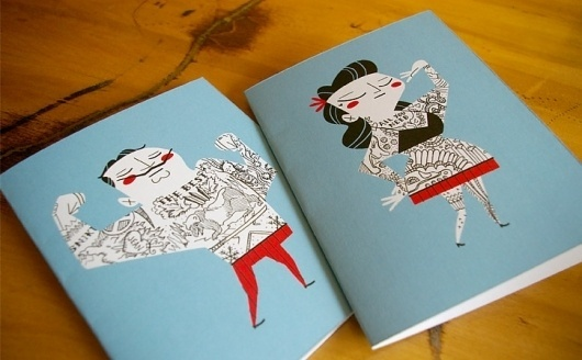 Tattoo It Yourself Cards #yourself #design #kolb #illustration #tattoo #it #cards #andrew