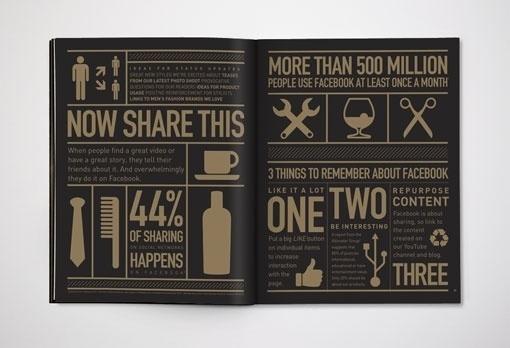 design work life » Karsh/Hagan: Social Animals #icon #infographics #design #black #gold #and #awesome #magazine #karshhagan