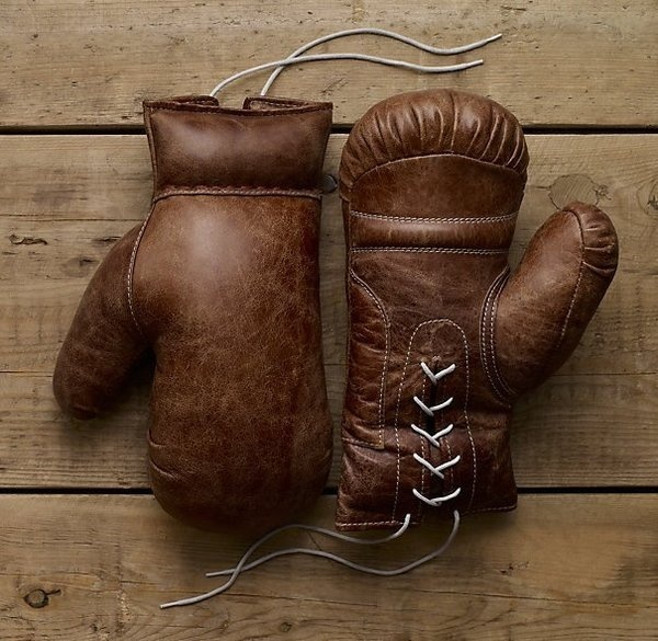 Vintage Leather Boxing Gloves #tech #gadget #ideas #gift #cool