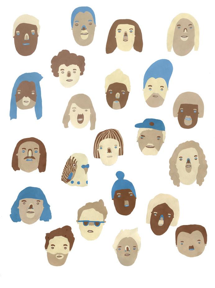 Sophie Alda #illustration #faces