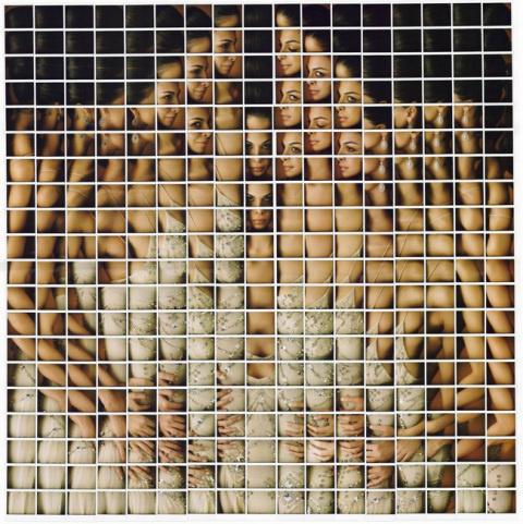 Polaroid Mosaics by Maurizio Galimberti   PICDIT #photos #photo #photography #mosaic #art