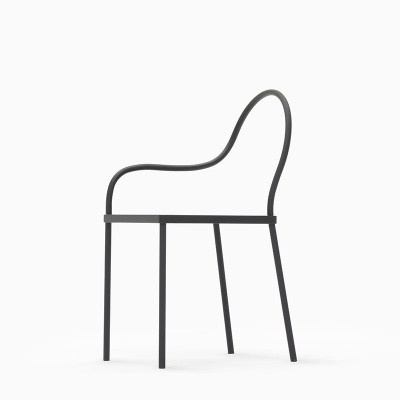 melt chair 5 400x400 #melt #chair #design #black #eating #furniture #metal