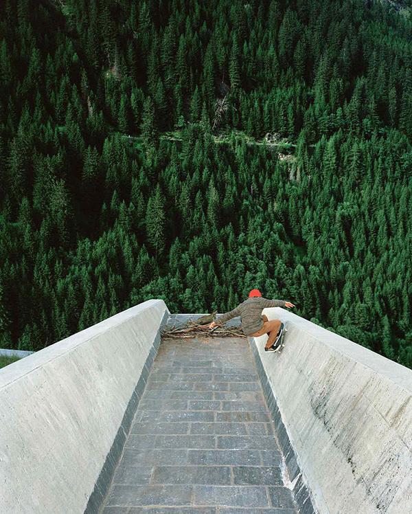 www.thediggest.com #skateboard #forest #shredding