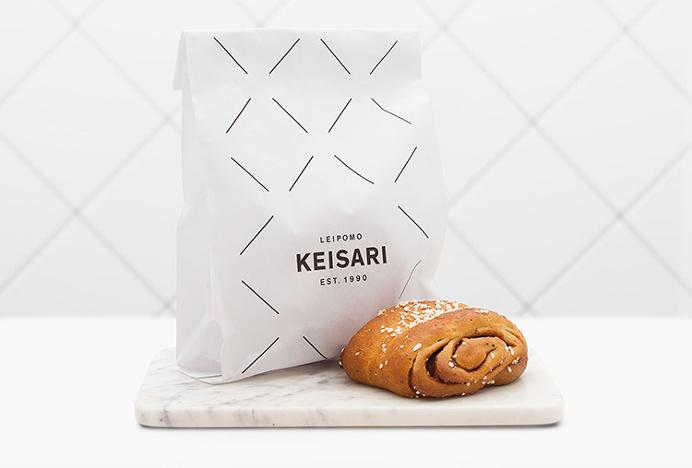 Keisari Bakery by Werklig #bags #packaging