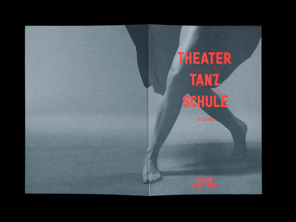 Bureau Collective – Theater Tanz Schule #design #graphic #poster #typography