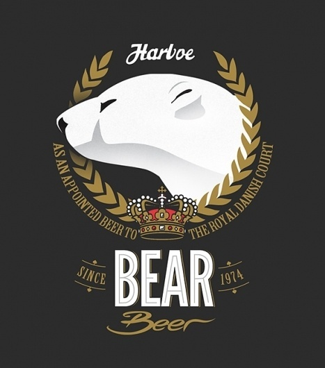 Bear Beer #beer #bear #label