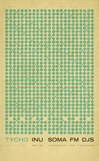 ISO50 Blog – The Blog of Scott Hansen (Tycho / ISO50) » The blog of Scott Hansen (aka ISO50 / Tycho) #design #poster