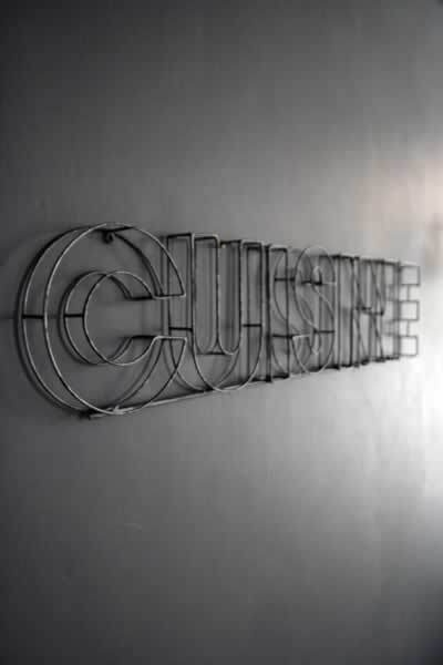 Cuisine #handcrafted #lettering #design #graphic #quality #technical #typography