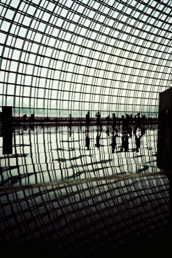"""A photo by """"kaelcat"""" - Lomography #photo #photography #architecture #silhouette #reflection"""