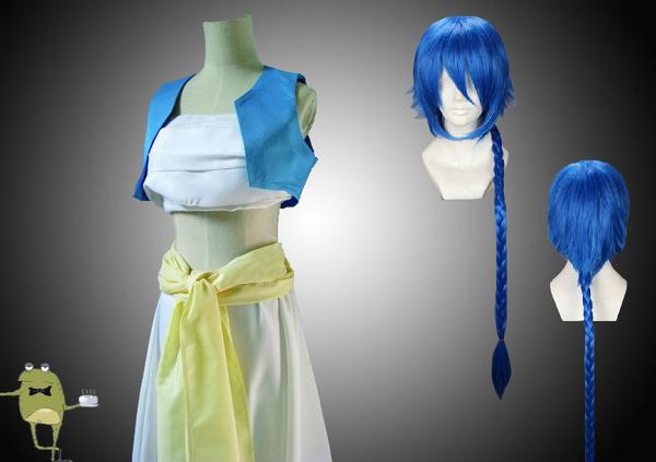 Labyrinth of Magic Magi Aladdin Cosplay Costume + Wig #magi #costume #aladdin #cosplay