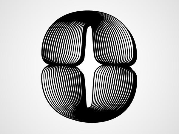 Zero #white #& #zero #black #typography
