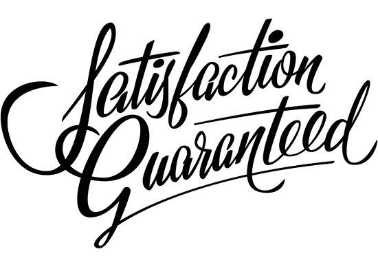 Creative Typography #lettering #handwritten #satisfaction