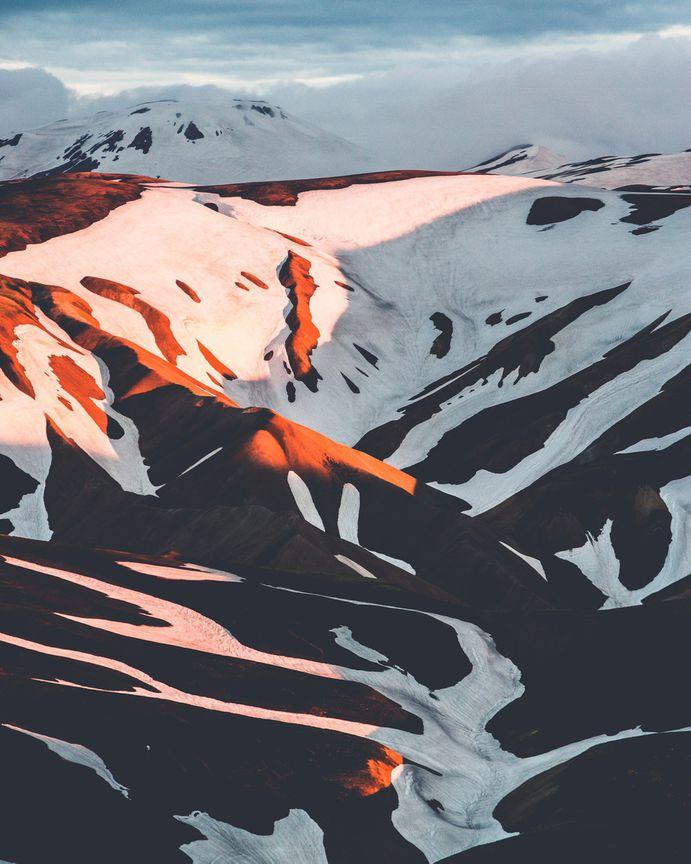 Mountain, snow, orange and landscape HD photo by Norbert von Niman (@norrisniman) on Unsplash