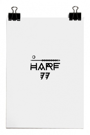 HARF 77 on Typography Served #poster #typography