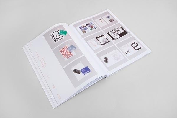 Process Journal Editorial Design by Studio Hunt #photo