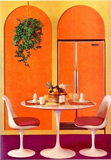 WANKEN - The Blog of Shelby White » The Interiors of Mid-Century Modern #interior #modern #chair #design #vintage #table #midcentury
