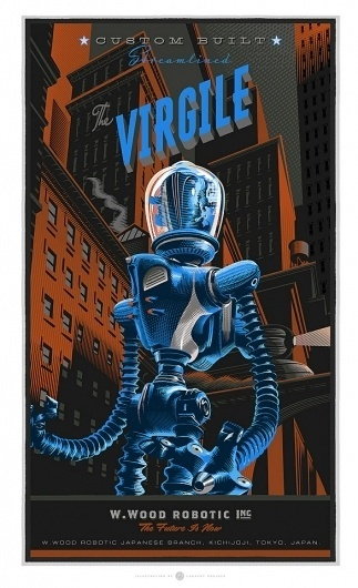 Signalnoise.com - The art of James White #durieux #vector #virgile #orange #the #poster #blue #laurent