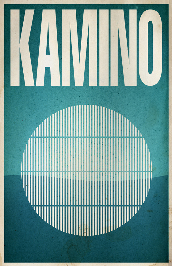 All sizes   Kamino   Flickr Photo Sharing! #design #graphic #wars #star #poster