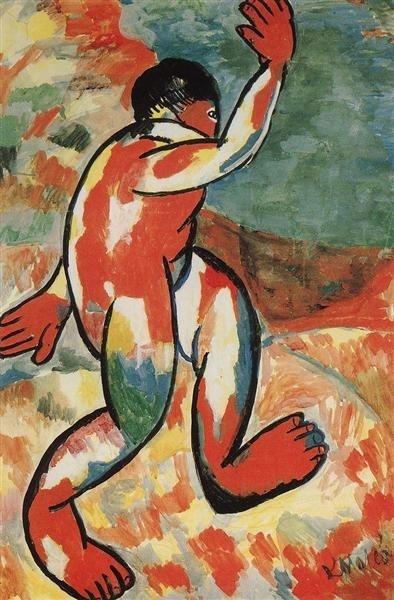 Kasimir Malevich, Bather