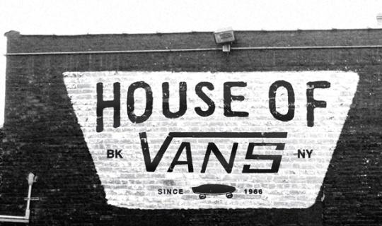 Radcollector - House of Vans Brooklyn #brick #white #branding #& #black #vans