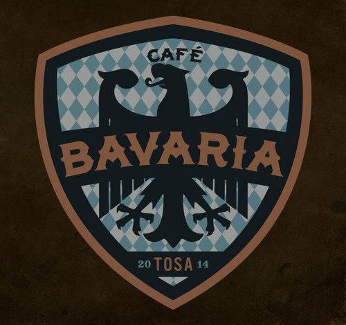 Cafe Bavaria Branding By Rev Pop #logo #brand #design #identity