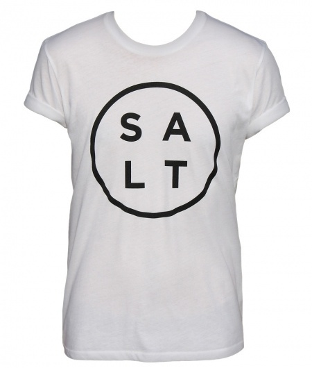 SALT SURF — Salt Logo Tee - White
