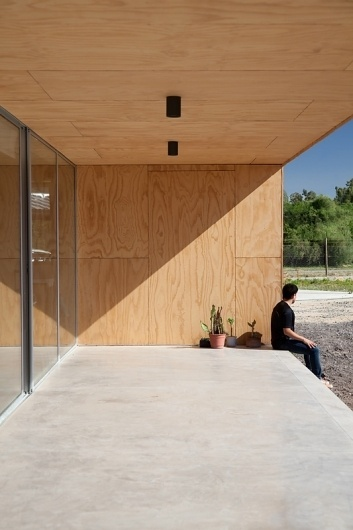 tumblr_m43dxnKxdl1ro4d42o1_1280.jpg (533×800) #plywood #sunshine #architecture