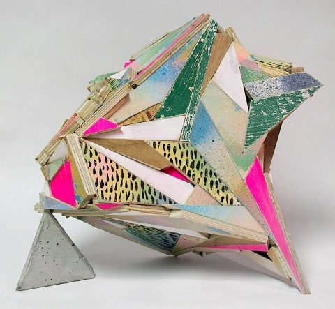 Aaron Moran   PICDIT #sculpture #design #wood #painting #art #media #colour