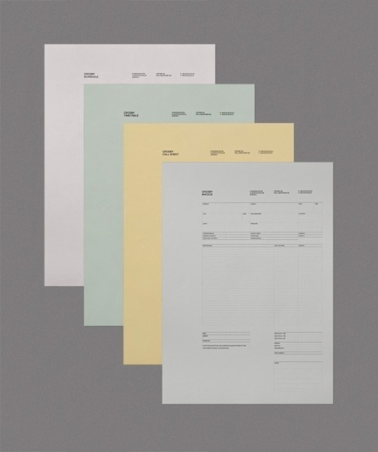 Crosby #letterhead #pastel #stationery #formal #official
