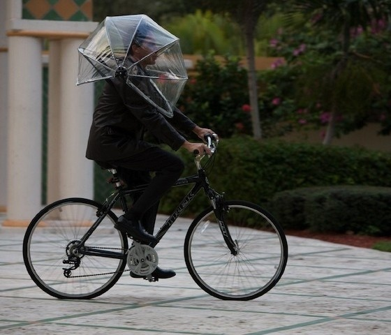 Nubrella Hands Free Umbrella #nubrella #umbrella #look #helmet #space #by #picked #press #up #like #r #hands #your #lets #associated #no